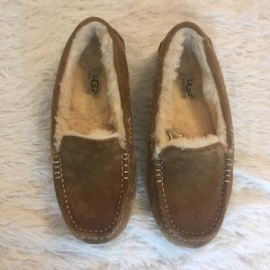 UGG Australia Tan Loafer Slippers